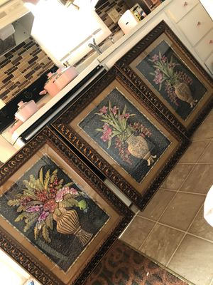 Palm wall pictures frame for Sale in Mechanicsburg, PA