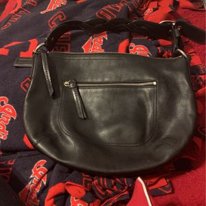 Leather Coach Purse for Sale in Cleveland, OH