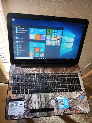 "HP laptop 15.6"" for Sale in Phoenix, AZ"