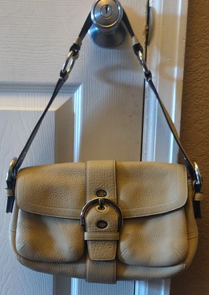 Authentic coach leather purse for Sale in Thornton, CO