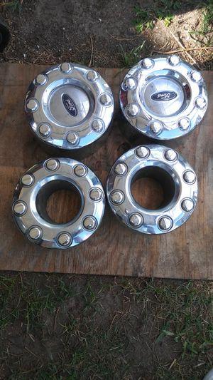 Ford 350 dually center caps or 8lug pattern rims for Sale in Homestead, FL