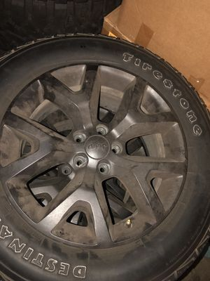 Jeep Cherokee wheels and tires for Sale in Bakersfield, CA