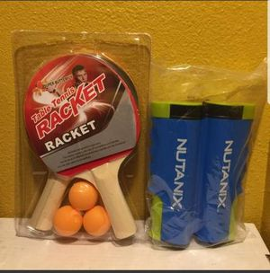Super Butterfly Table Tennis Racket With Nutanix Net New Sealed selling all only $15 for Sale in Los Angeles, CA