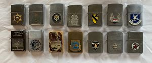 Zippo Lighters Lot - Law Enforcement and Military for Sale in Scottsdale, AZ