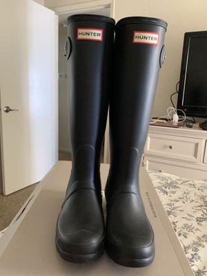 Hunter womens rain boots for Sale in Fresno, CA