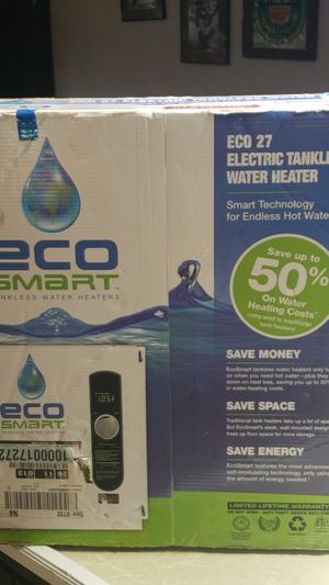Eco smart tankless water heater for Sale in Nashville, TN