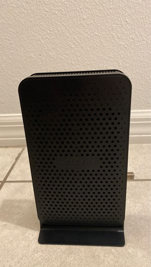 NETGEAR C3000-100NAS N300 (8x4) WiFi DOCSIS 3.0 Cable Modem Router (C3000) for Sale in Orlando, FL