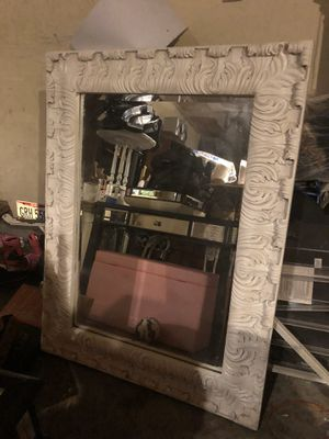 38x50 white wall mirror for Sale in Dublin, OH