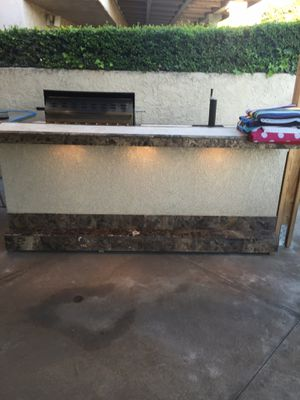 BBQ Island w/ 4 burner grill and kegerator for Sale in Yorba Linda, CA