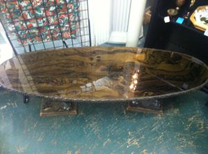 Antique glass table (one of a kind) for Sale in Houston, TX