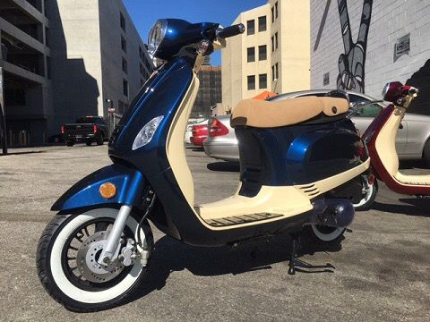Limited Edition 2016 ZNEN 150 Scooter for Sale in Los Angeles, CA - OfferUp