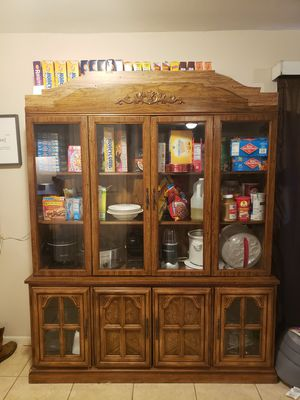 China cabinet for Sale in Baytown, TX