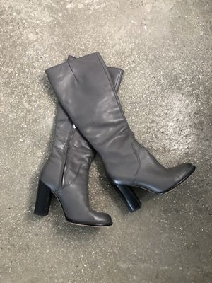 Sam Edelman Knee High Boots - Grey Leather for Sale in Miami, FL