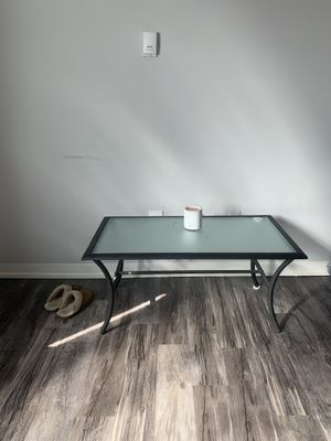 Small glass table for Sale in Arvada, CO