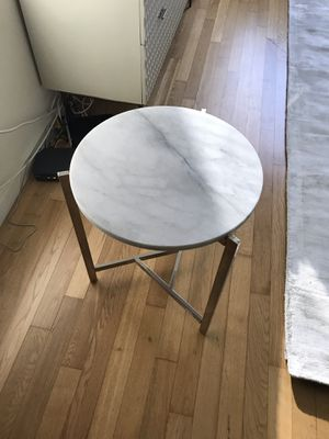 West Elm Marble Side Table for Sale in New York, NY