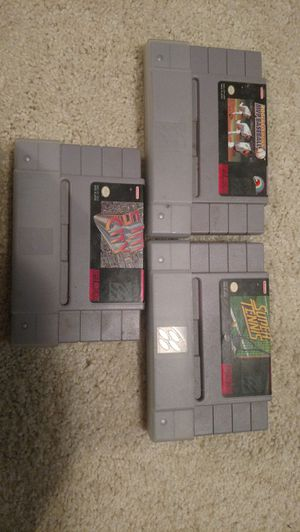 3 SNES games for Sale in Appomattox, VA