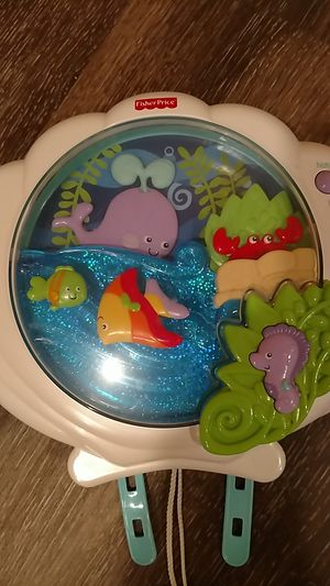 Fisher Price Ocean Scene Crib Soother for Sale in Painesville, OH