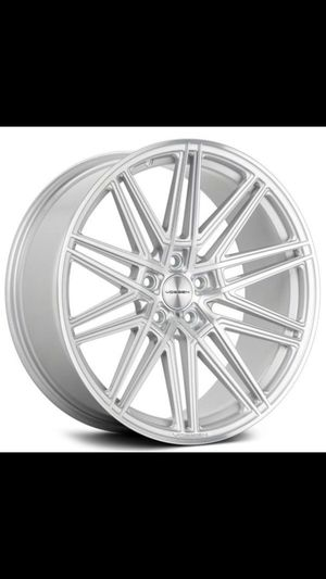 """20"""" Vossen CV10 silver available for BMW Audi Mercedes Mustang rims wheels and tires for Sale in Tempe, AZ"""