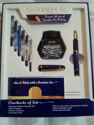 Waterman Phileas Fountain Pen Set for Sale in Virginia Beach, VA