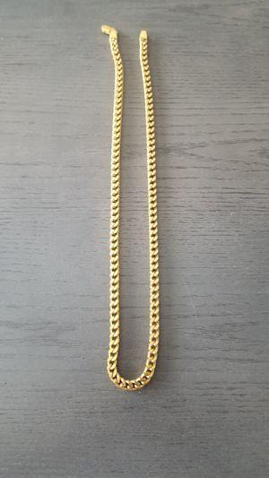 24in 18K Spicy Ice gold plated Box Franco Chain for Sale in Atlanta, GA