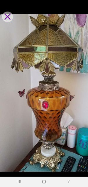 1940's retro tall table lamp for Sale in Madison Heights, VA