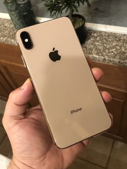 iPhone XS Max 256g Gold Factory Unlocked Excellent Condition with Original Box and Accessories for Sale in Miami,  FL