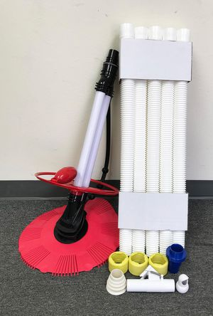 Brand New $75 Inground Above Ground Swimming Pool Automatic Cleaner Clean Pool Vacuum Hose Set for Sale in Downey, CA