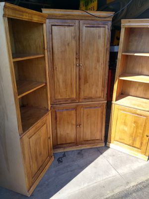 Two book cases and matching armoir for Sale in Rio Vista, CA