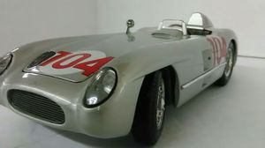 Mercedes Benz 300 SLR scale Model 1:18 Die cast metal for Sale in Providence, RI