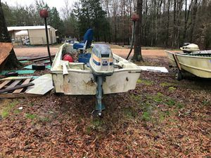 Boat and motor for sale for Sale in Greenwood Springs, MS