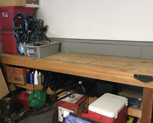 Solid Wood Heavy Duty Work Bench for Sale in Gig Harbor,  WA