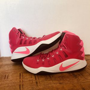 Nike Hyperdunk 2016 Think Pink Breast Cancer Vivid Pink Size 10.5 844359 660 BCA for Sale in Burbank, CA