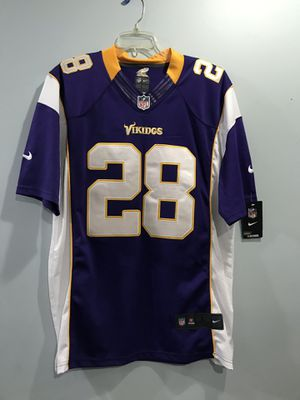 Vikings Peterson Jersey size adult L for Sale in Manassas Park, VA