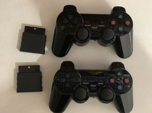 PS2 wireless controllers for Sale in Albuquerque, NM