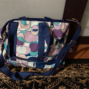 Fabric Coach Purse for Sale in Haverhill, MA