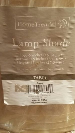 Home Trends Lamp Shade, New for Sale in Hampton, VA