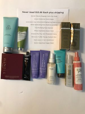FabFitFun Destash $15.00 Items for Sale in Virginia Beach, VA