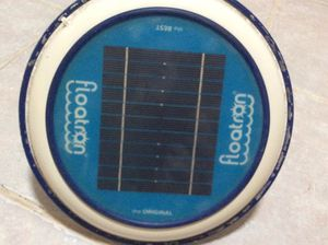 Solar pool copper ionizer for 80% less chlorine in your pool: FLOATRON-Solar Powered Water Purifier including one brand new Copper Anode replacement for Sale in Chula Vista, CA