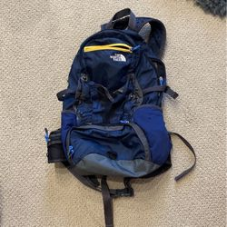 The North Face Backpack - Navy for Sale in Milwaukee,  WI