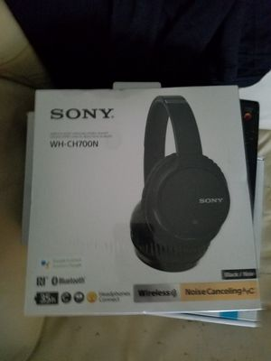 Sony Bluetooth noise canceling headphones brand new in box for Sale in Levittown, PA