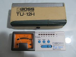 Boss Chromatic Tuner TU-12H Digital Processing Multi Instrument Tuner for Sale in Los Angeles, CA