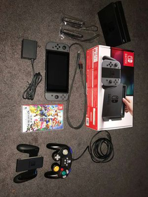 Nintendo Switch with Game and Extra Controller for Sale in Cranston, RI