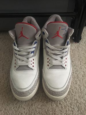 Jordan3 (with signature) for Sale in Rockville, MD