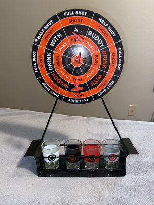 Magnetic Dart Party Drinking Game With Shot Glasses for Sale in Portland, OR