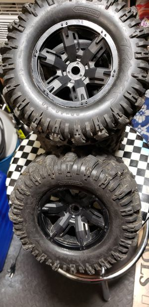 Traxxas xmaxx wheels,tires for Sale in Maple Valley, WA