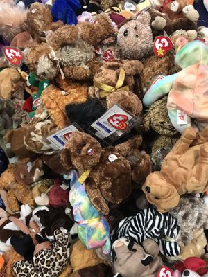 284 beanie babies all new...(scammers already messaging me ..) for Sale in San Jose, CA