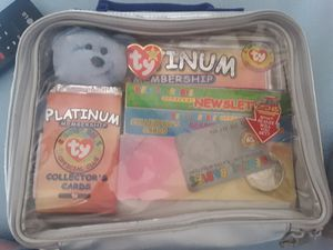 4th Edition Platinium Beanie Babies collector set for Sale in San Jose, CA