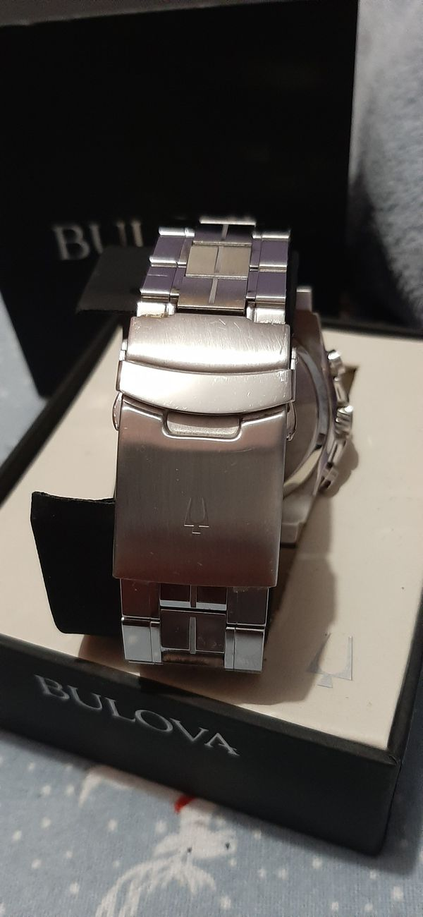 Good Condition Mens Bulova Precisionist Stainless steel