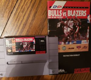 Super Nintendo Bulls vs Blazers for Sale in Mt. Juliet, TN