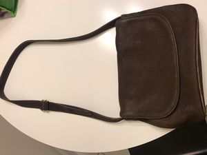 Brown cross body Coach purse with adjustable strap for Sale in Guilford, CT